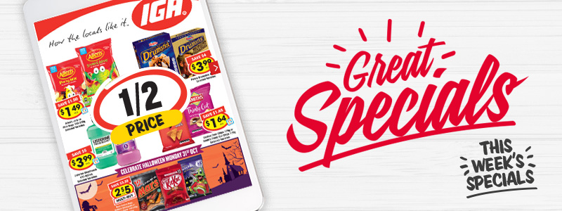 IGA Weekly Specials Catalogue
