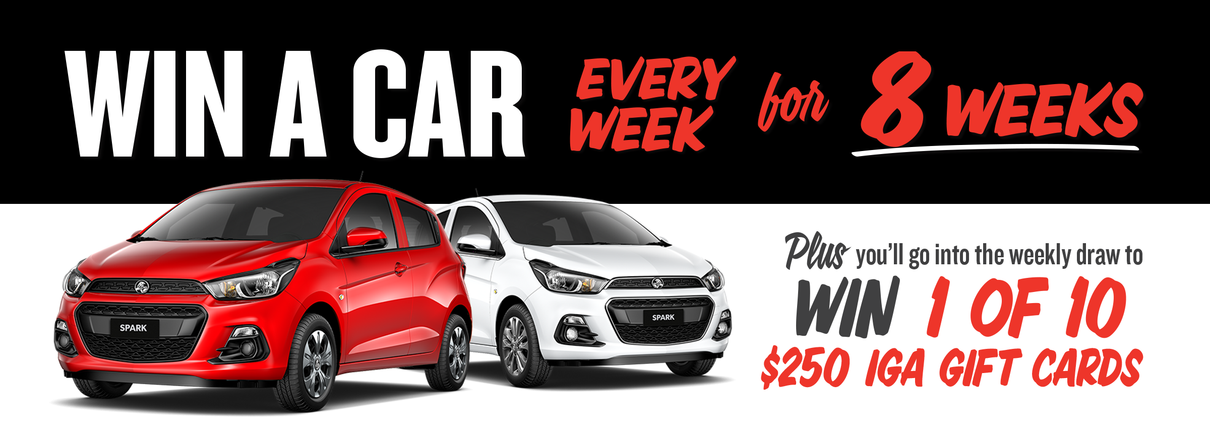 Win A Car: IGA Supermarkets