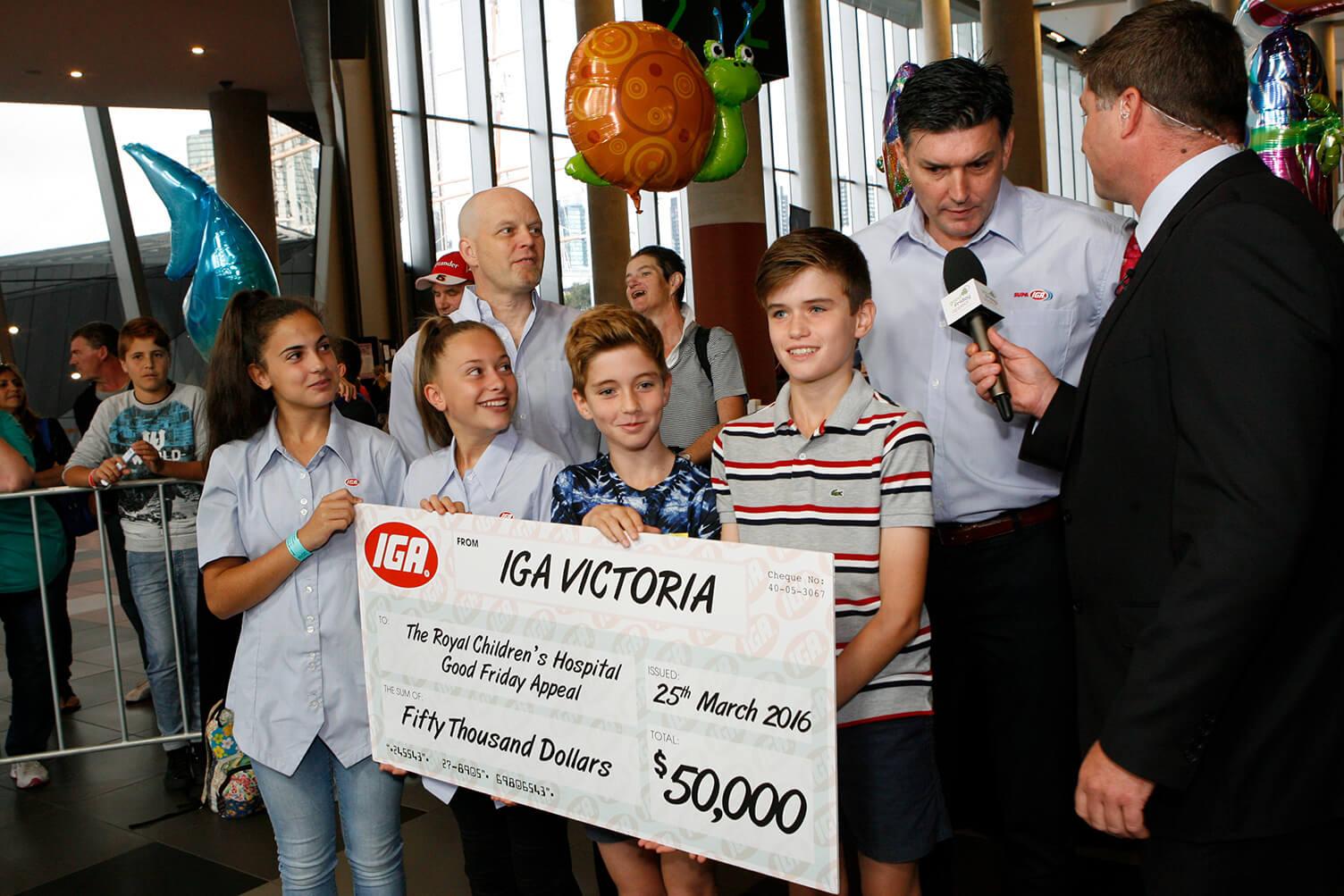 IGA Retailers Community Chest