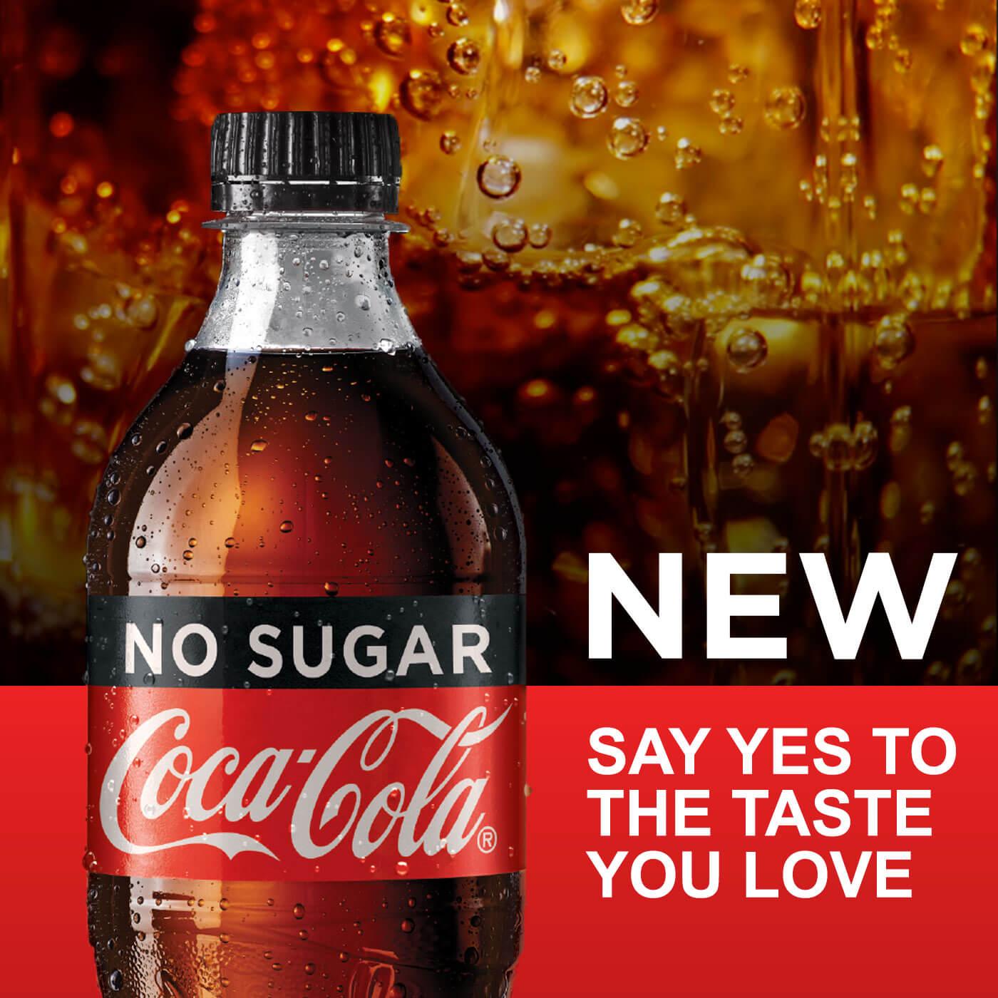 IGA Coke No Sugar