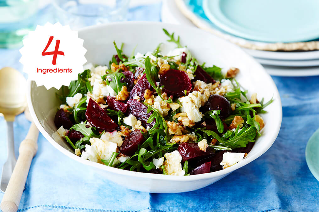 Feta Beetroot Salad