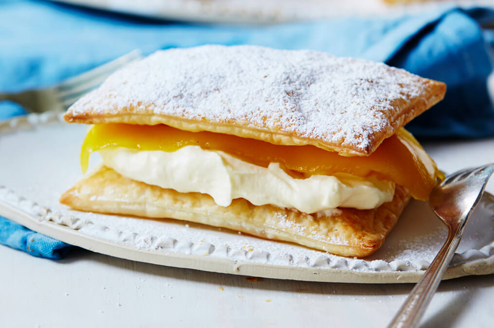 Simple Mango Mille-feuille