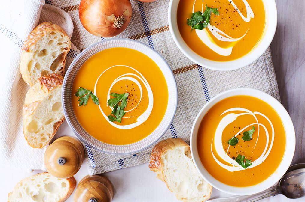 pumpkin soup iga supermarkets