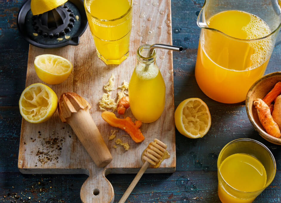 Turmeric And Ginger Lemonade Iga Recipes