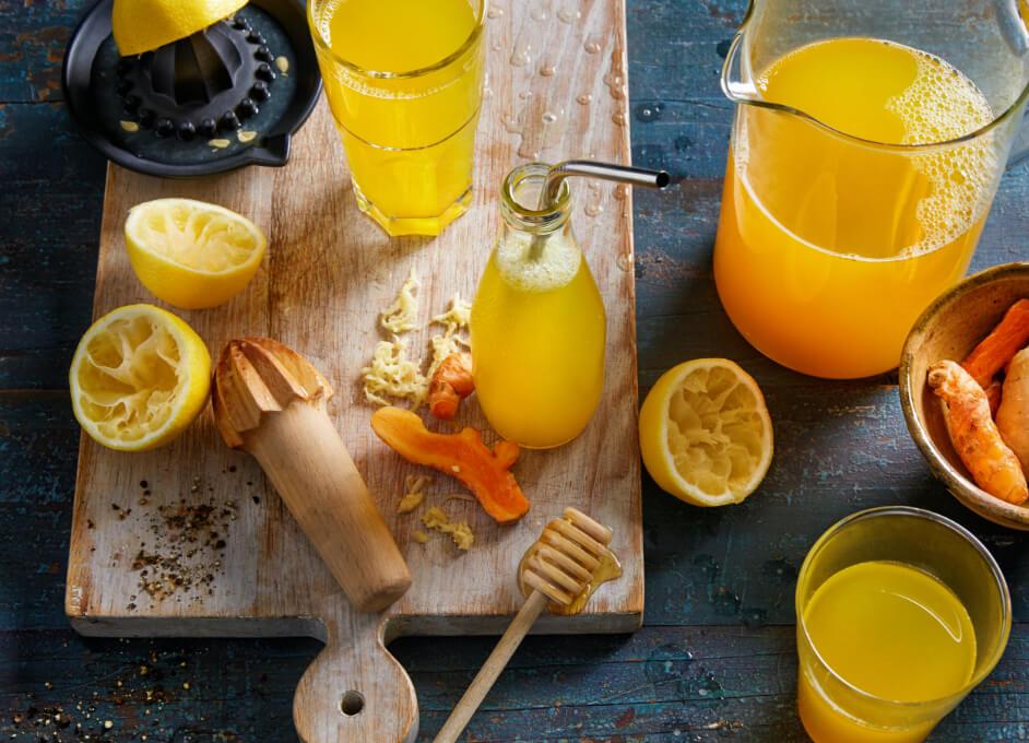 Turmeric And Ginger Lemonade Iga Recipes