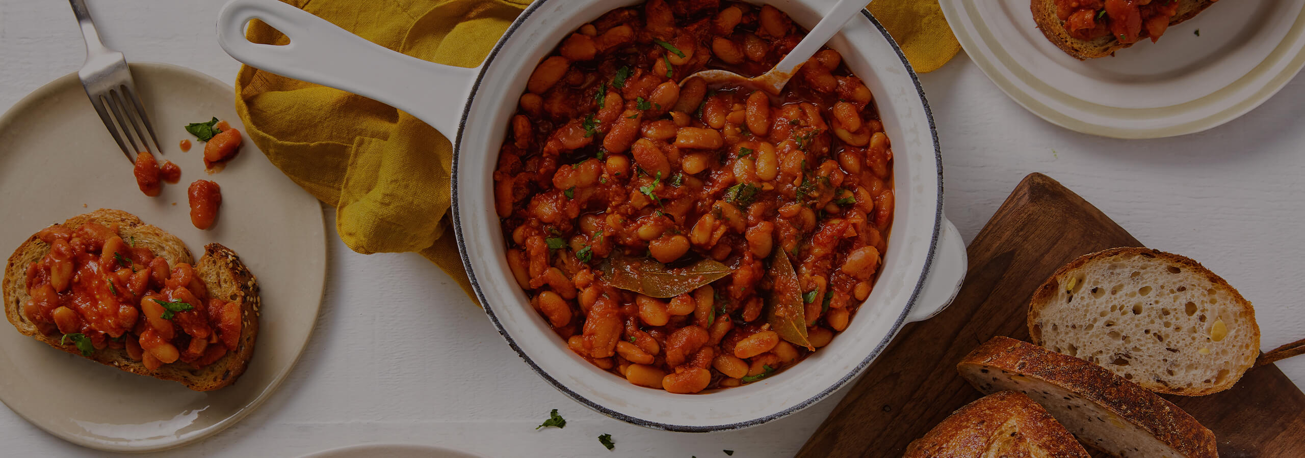 Slow Cooked Baked Beans